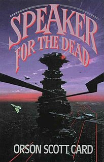 <i>Speaker for the Dead</i> novel by Orson Scott Card