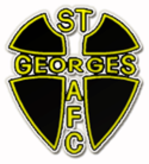 St Georges A.F.C. - Image: St Georges A.F.C. logo