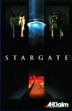 Stargate (1995 video game) - European cover art