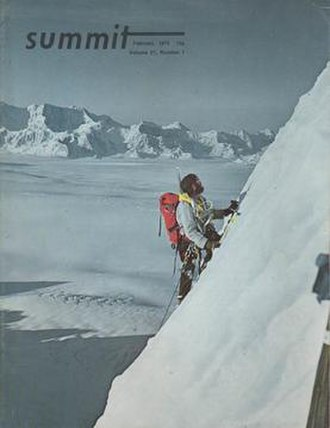 Summit (magazine) - Image: Summit magazine cover vol 21 feb 1975