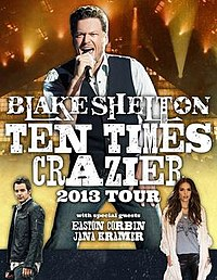 Ten Times Crazier Tour Dates