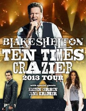 Ten Times Crazier Tour - Image: Ten Times Crazier Tour poster
