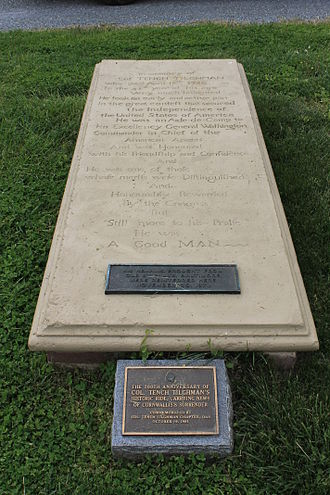 Talbot County, Maryland - (Col. Tench Tilghman grave)