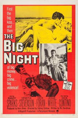 The Big Night (1960 film) - Theatrical release poster