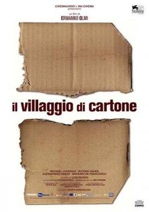 The Cardboard Village - Film poster