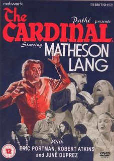 <i>The Cardinal</i> (1936 film) 1936 film by Sinclair Hill