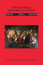 The Catholic Historical Review - Volume 103.3 cover.png