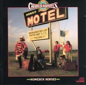 Homesick Heroes - Image: The Charlie Daniels Band Homesick Heroes Front