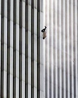 <i>The Falling Man</i> iconic photograph from 9/11