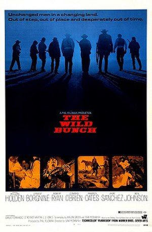 The Wild Bunch - Theatrical release poster