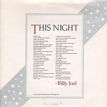 This Night (Billy Joel single) coverart.jpg