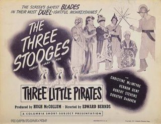 <i>Three Little Pirates</i> 1946 film by Edward Bernds
