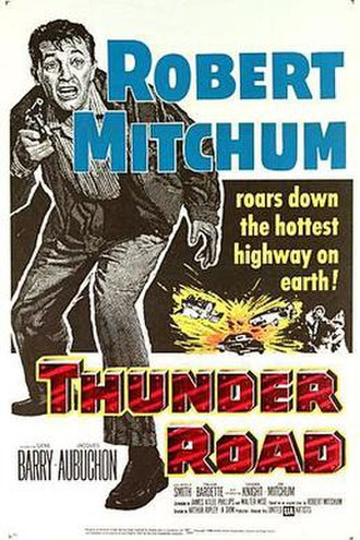 Thunder Road (1958 film) - Theatrical poster