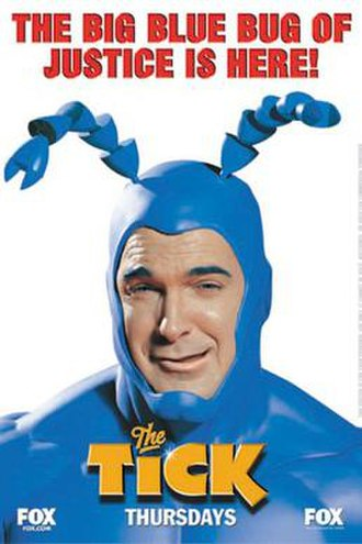 The Tick (2001 TV series) - Promotional poster