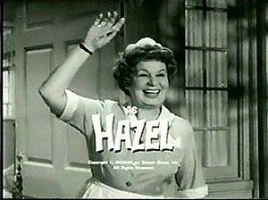 Hazel (TV series) - Shirley Booth as the main character, Hazel Burke