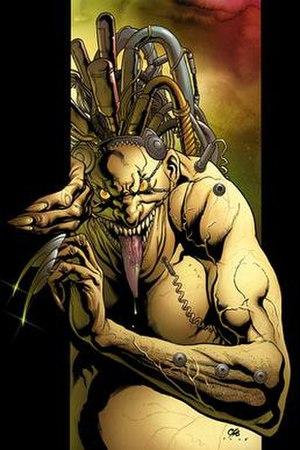 Mojo (comics) - Image: Uncanny X Men 461