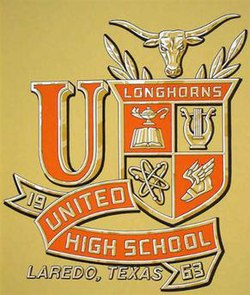 United High School crest