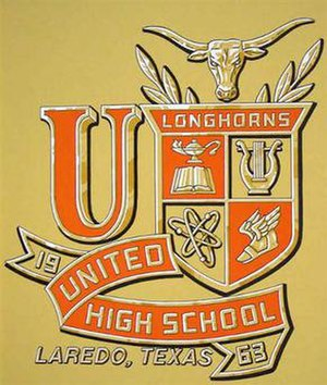 United High School (Texas) - United High School crest