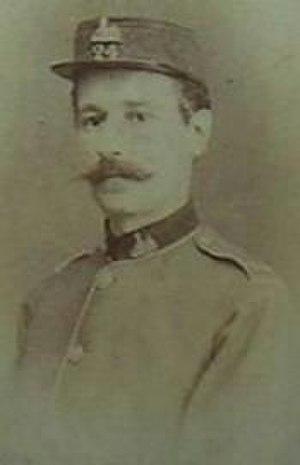 Teignmouth Melvill - Photo of Melvill circa 1877