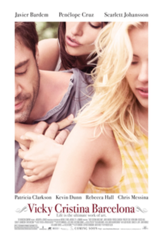 Vicky Cristina Barcelona - Theatrical release poster