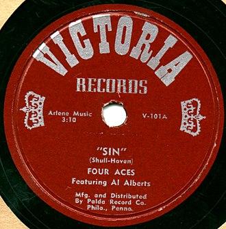Victoria Records (1951) - Image: Victoria 101a