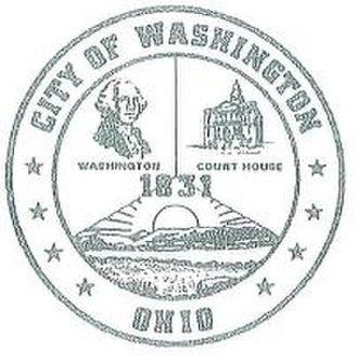Washington Court House, Ohio - Image: WC Hseal