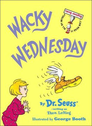Wacky Wednesday (book) - Image: Wacky Wednesday book cover