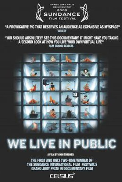 Picture of a movie: We Live In Public