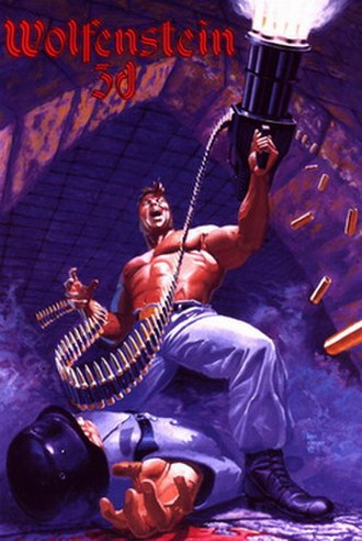 Wolfenstein 3D - Cover art for the mail order DOS version