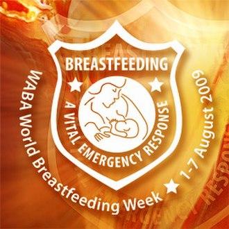World Alliance for Breastfeeding Action - World Breastfeeding Week 2009 Logo