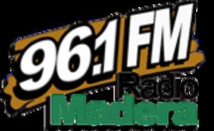 XHESW-FM - Image: XHESW 96.1Radio Madera logo