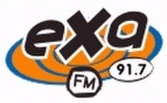 XHGLX-FM - Exa 91.7 old logo