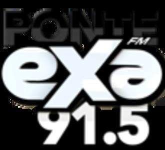XHJC-FM - Image: XHJC Exa FM91.5 logo
