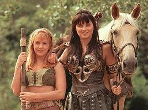 Xena - Xena with Gabrielle.