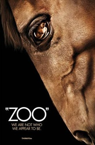 Zoo (2007 film) - Zoo movie poster