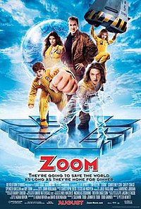Zoom: Academy for Superheroes (2006) [English] - Tim Allen, Kate Mara, Spencer Breslin, Michael Cassidy, Kevin Zegers, Courteney Cox Arquette, Chevy Chase and Ryan Newman
