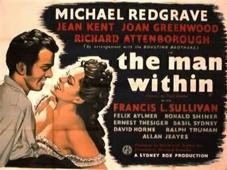 <i>The Man Within</i> (film) 1947 film by Bernard Knowles