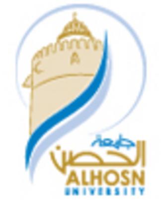 ALHOSN University - Image: ALHOSN University (logo)