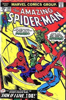 Cover to Amazing Spider-Man  149  October 1975   Cover pencil art by