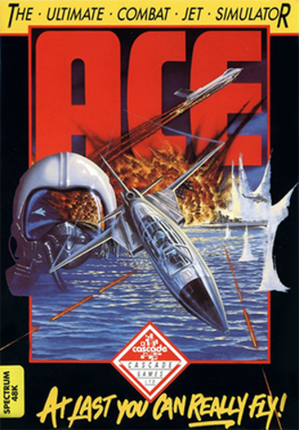 Ace (video game) - ZX Spectrum release box cover art