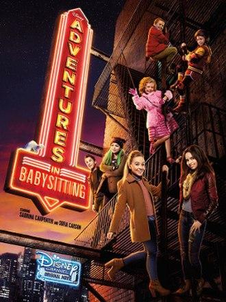 Adventures in Babysitting (2016 film) - Promotional poster