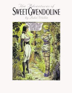 Sweet Gwendoline Main female character in the works of bondage artist John Willie