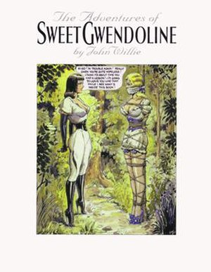 Sweet Gwendoline - Book cover for The Adventures of Sweet Gwendoline