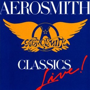 Classics Live I and II - Image: Aerosmith Classics Live