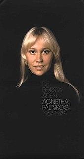 <i>De första åren</i> 2004 box set by Agnetha Fältskog