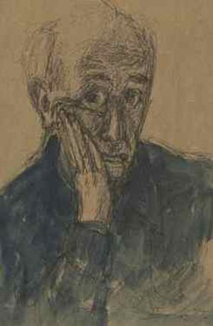 Adam Kossowski - Self-Portrait, 1977