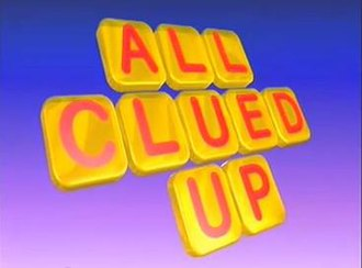 All Clued Up - Image: All clued up