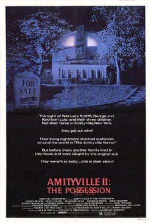 Amityville II: The Possession - Theatrical release poster