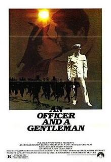 <i>An Officer and a Gentleman</i> 1982 film by Taylor Hackford