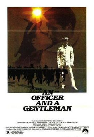 An Officer and a Gentleman - Image: An Officer and a Gentleman film poster
